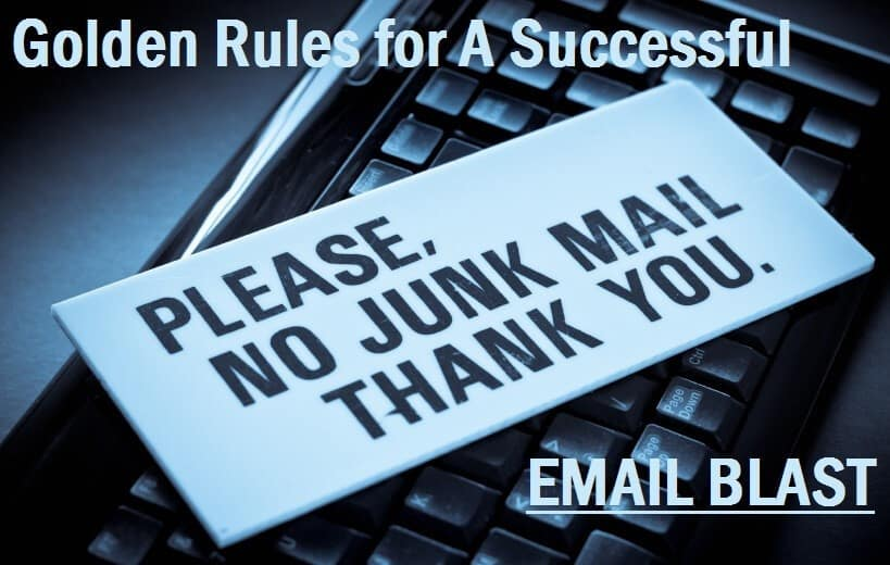Golden Rules for A Successful Email Blast